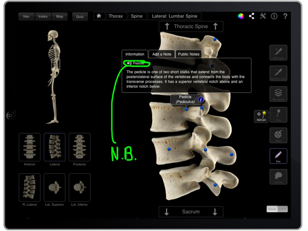 Next generation of anatomy apps for learning and patient education here NOW!! (2/4)
