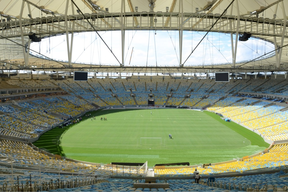 The Confederations Cup and Estadio do Maracana