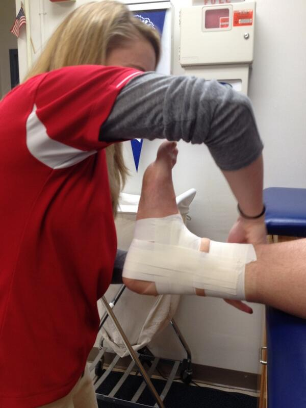 The Effectiveness of Ankle Taping (2/2)