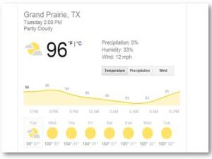 grand prairie texas weather