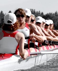Canadian Women 8+ jane thorton